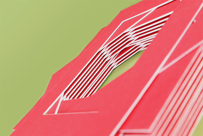 stack of thick china red acid-free mat boards - Mat Board Center